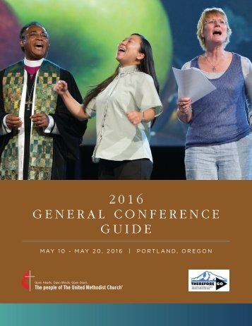 2016 GENERAL CONFERENCE GUIDE