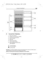 KitchenAid 509 775 - Refrigerator - 509 775 - Refrigerator FR (853916922020) Guide de consultation rapide