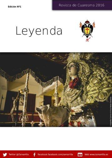 Leyenda - Revista de Cuaresma 2016