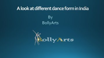 A look at different dance form in India