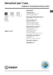 KitchenAid NBAA 14 V NX - Refrigerator - NBAA 14 V NX - Refrigerator IT (F053887) Mode d'emploi