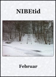 NIBEtid - Uge 5