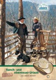 Ranch- und Abenteuer-Urlaub - Argus Reisen