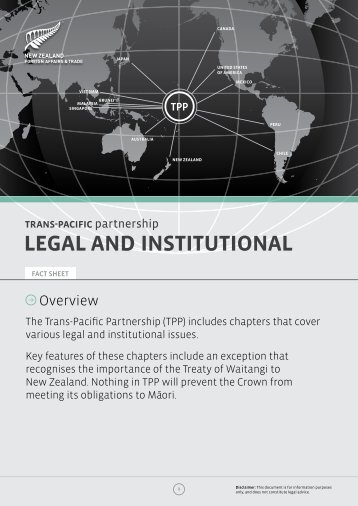 legal and institutional