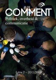 Comment 2: Politiek, overheid & communicatie