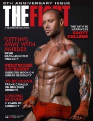 THE FIGHT SOCAL'S LGBTQ MONTHLY MAGAZINE FEBRUARY 2016