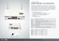 CRS109-8G-1S-2HnD-IN Brochure Mikrotik - mstream.com.ua