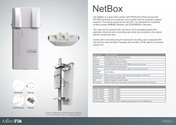 NetBox Brochure Mikrotik - mstream.com.ua