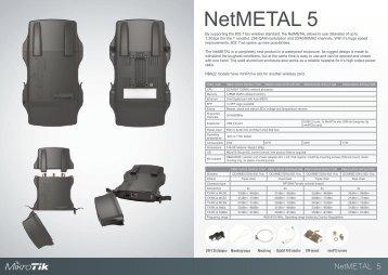 NetMetal Brochure Mikrotik - mstream.com.ua