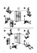 KitchenAid 20RB-D3 A+ SF - Side-by-Side - 20RB-D3 A+ SF - Side-by-Side DA (858641211030) Guide d'installation - Page 5