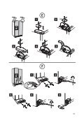 KitchenAid 20RB-D3 A+ SF - Side-by-Side - 20RB-D3 A+ SF - Side-by-Side DA (858641211030) Guide d'installation - Page 6