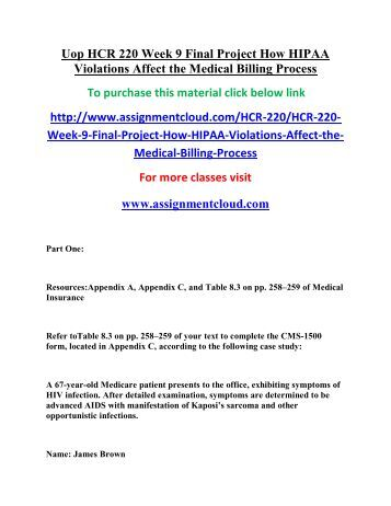How Hipaa Violations Affect the Medical Billing Process