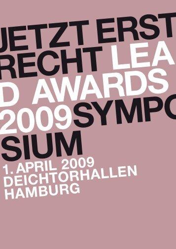 leo findeisen - Lead Award