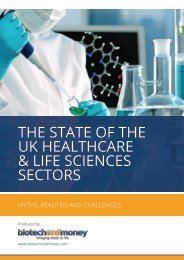 THE STATE OF THE UK HEALTHCARE & LIFE SCIENCES SECTORS