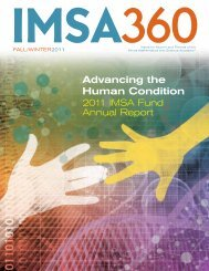 Advancing the Human Condition - Illinois Mathematics and Science ...