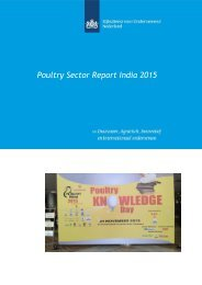 Poultry Sector Report India 2015