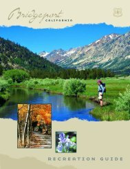 recreation guide - Bridgeport, California Chamber of Commerce