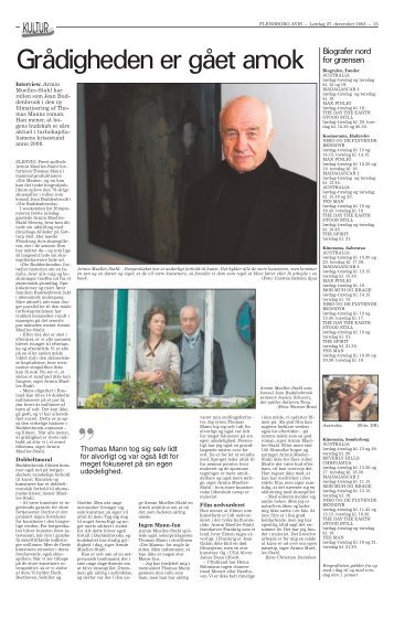 Interview med Armin Mueller-Stahl.