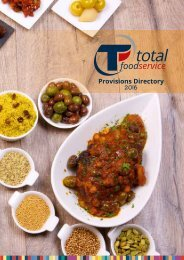 Total Foodservice Provisions Directory