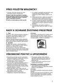 KitchenAid ZS 101 - Freezer - ZS 101 - Freezer CS (850736110000) Mode d'emploi - Page 2