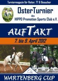 7. bis 9. April 2012 - Hippo Promotion GmbH