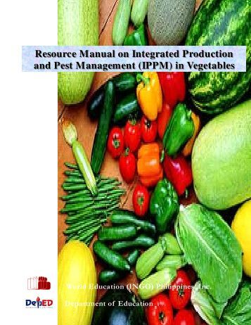 Resource Manual on Integrated Production and Pest ... - julitoaligaen