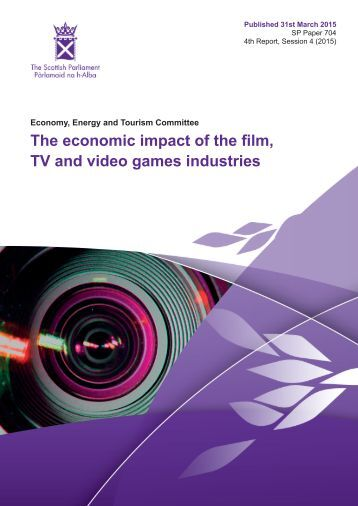 The economic impact of the film TV and video games industries