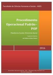Procedimento Operacional Padrão - POP