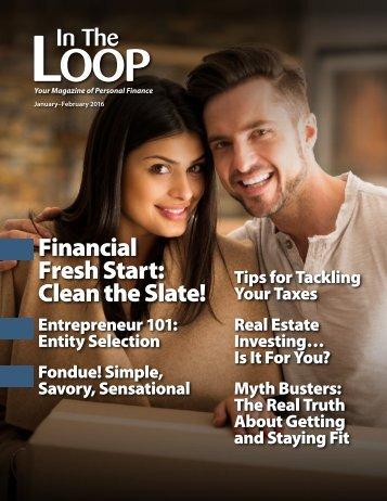 Financial Fresh Start Clean the Slate!