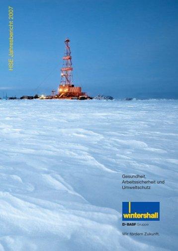 HSE Jahresbericht 2007 (deutsch) - WINTERSHALL
