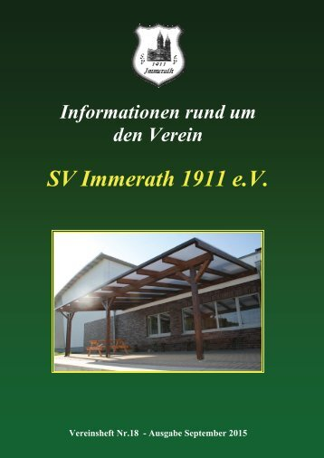 SVI Vereinsheft 18