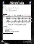 INSCRIPCIONES LUGAR/FECHA PARTICIPANTES/ACREDITACIÓN/EQUIPOS - Page 5