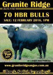 70 HBR BULLS