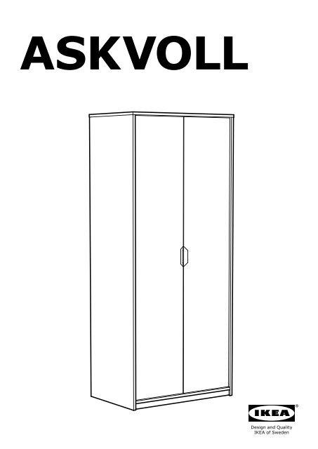 sDe Askvoll Plan Montage 70270809 Armoire Ikea erCWodBx