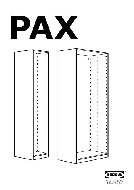 monter armoire ikea pax