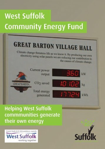 West Suffolk Community Energy Fund