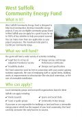 West Suffolk Community Energy Fund - Page 2