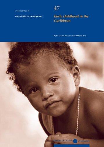 Early childhood in the Caribbean - Bernard van Leer Foundation