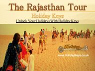 The Rajasthan Tour - HolidayKeys.co.uk