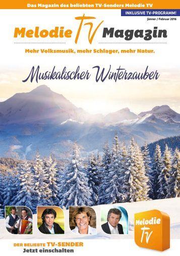 Melodie TV Magazin 01 02 2016 36 Seiten Screen