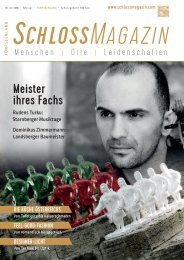 SchlossMagazin Fuenfseenland Februrar 2016