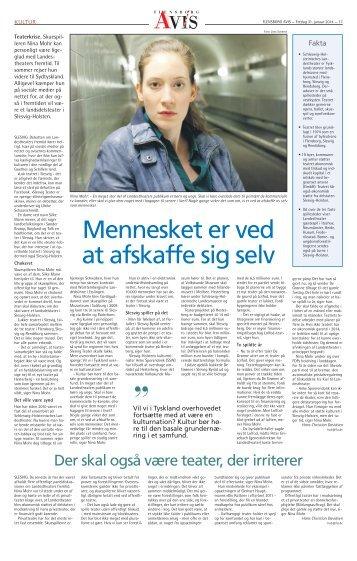 Interview med Nina Mohr