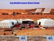 Luxury Desert Camp Morocco