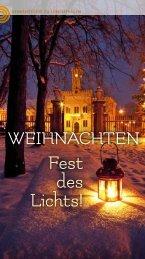 WEIHNACHTEN - Fest des Lichts!