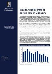 Saudi Arabia PMI at series low in January