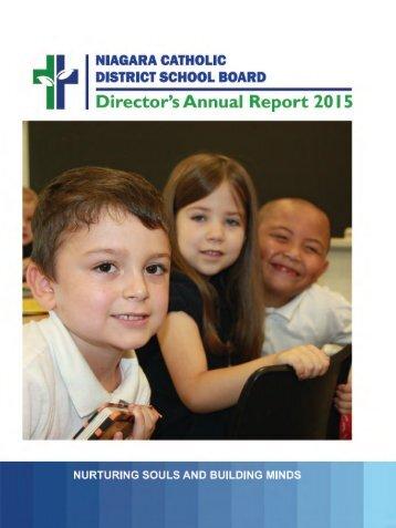 Director's Annual Report 2015