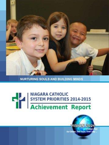 System Directions 2014-2015 Achievement Report
