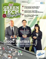 Green Tech Magazine November 2014
