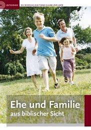 Ehe und Familie aus biblischer Sicht