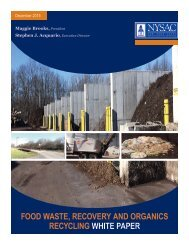 FOOD WASTE RECOVERY AND ORGANICS RECYCLING WHITE PAPER